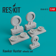 Hawker Hunter F.6 wheels set #RS48-0115