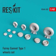 Fairey Gannet AEW/ASW Type 1 wheels set #RS48-0202