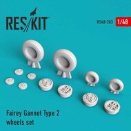Fairey Gannet AEW/ASW Type 2 wheels set #RS48-0203