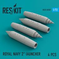 Royal Navy 2' Launcher (4 pcs) #RS72-0107