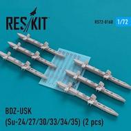 BDZ-USK Racks (6 pcs) (Sukhoi Su-24/Su-27/Su-30/Su-33/Su-34/Su-35) #RS72-0160
