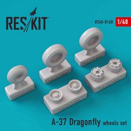 Cessna A-37A/A-37B Dragonfly wheels set #RS72-0168