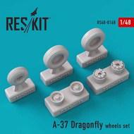 Cessna A-37A/A-37B Dragonfly wheels set #RS72-0168