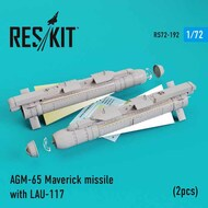 AGM-65 Maverick missile with LAU-117 x 2 #RS72-0192