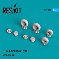 Sikorsky UH-19A Chickasaw Type 1 wheels set #RS72-0200