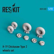 Sikorsky UH-19A Chickasaw Type 2 wheels set #RS72-0201