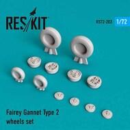Fairey Gannet Type 2 wheels set #RS72-0203