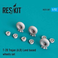 North-American T-28 Trojan LAND BASED wheels set #RS72-0207