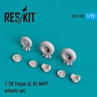 North-American T-28 Trojan NAVY wheels set #RS72-0208