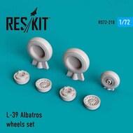 Aero L-39C Albatros wheels set #RS72-0210