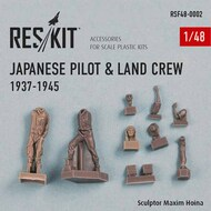 Japanese pilot and ground crew 1937-1945 (WWII) #RSF48-0002