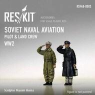 Soviet Naval Aviation 'pilot & land crew '(WW2) #RSF48-0003
