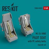 Mil MI-24 Hind. Pilot seats Monogram, Revell, Mini Hobby Models #RSU48-0002