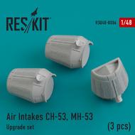 Air Intakes Sikorsky CH-53, MH-53 (3 pcs) #RSU48-0006