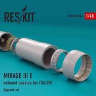 Dassault Mirage IIIE exhaust nozzles #RSU48-0016