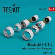 Mitsubishi F-1/T-2 exhaust nozzles #RSU48-0022