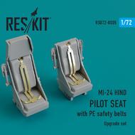 Mil Mi-24 Hind. Pilot seats #RSU72-0005