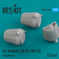 Air Intakes Sikorsky CH-53, MH-53 (3 pcs) #RSU72-0009