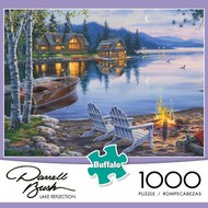 Buffies Best   N/A Darrell Bush: Lake Reflection Puzzle (1000pc) BUF11239