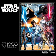 Buffies Best   N/A Star Wars Vintage Art: The Circle is now Complete Puzzle (1000pc) BUF11801