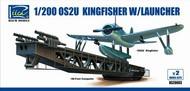 Riich Models  1/200 OS2U Kingfisher Aircraft w/Launcher (2 Kits) RIH20003