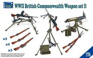 Riich Models  1/35 WWII British Commonwealth Weapon Set B RIH30011
