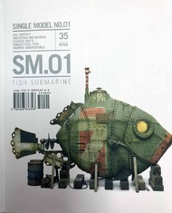 Rinaldi Studio Press   N/A Single Model Vol.1: Fish Submarine RSSSM01