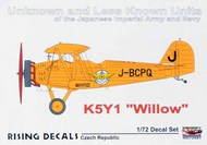Yokosuka K5Y1 'Willow' Unknown and Less Known Units of the Japanese Imperial Army and Navy #RD72087