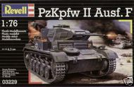 Revell of Germany  1/76 PzKpfw II Ausf F WWII Tank RVL03229