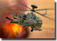 Revell of Germany  1/144 AH-64D Longbow Apache Armed Combat Helicopter RVL4046