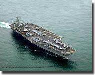 Revell of Germany  1/1200 U.S.S. Nimitz (CVN-68 Aircraft Carrier (New Tool) RVL05814