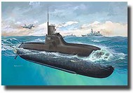 Revell of Germany  1/144 New German Submarine Class 212A RVL05019