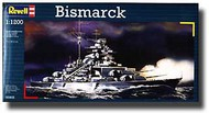 Revell of Germany  1/1200 Bismarck RVL5802