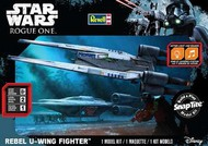 Revell USA  Snap Star Wars Rogue One: Rebel U-Wing Fighter w/Sound (Build & Play Snap) RMX1637