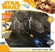 Revell USA  Snap Star Wars Solo A Star Wars Story: Imperial Patrol Speeder (2) w/Sound (Build & Play Snap) RMX1676