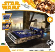Revell USA  Snap Star Wars Solo A Star Wars Story: Han's Speeder (2) w/Sound & Lights (Build & Play Snap) RMX1677