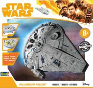 Revell USA  Snap Star Wars Solo A Star Wars Story: Lando's Millenium Falcon w/Sound & Lights (Build & Play Snap) RMX1678
