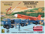 Revell USA  1/32 Teracruzer Flatbed Towing Vehicle w/Mace Missile (SSP) RMX7812