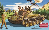 Revell USA  1/32 M42 Twin Forty Tank w/5 Crew (SSP) (D)<!-- _Disc_ --> RMX7822