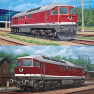 Revell of Germany  1/87 Diesel Locomotive Set: BR130/230 & BR131/231 (D)<!-- _Disc_ --> RVL2159