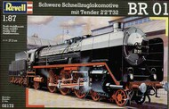 Revell of Germany  1/87 Express Locomotive BR01 with Tender 2'2' T329 (January 2021 release) RVL2172