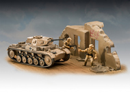 Revell of Germany  1/76 PzKpfw II Ausf F WWII Tank RVL3229