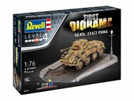 Revell of Germany  1/76 Sd.Kfz.234/2 Puma First Diorama Set Delivery: 05/2021 - Pre-Order Item RVL3298