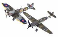 Combat Set Messerschmitt Bf.109G-10 & Supermarine Spitfire - Pre-Order Item #RVL3710