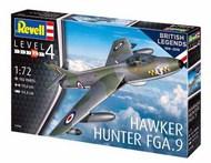 Hawker Hunter FGA.9 100 Years RAF #RVL3908
