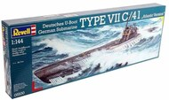 Revell of Germany  1/144 German U-Boat Type VIIC/41 Atlantic Submarine RVL5100