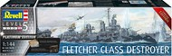 Revell of Germany  1/144 USN Fletcher Class Destroyer Platinum Edition (Ltd Edition) RVL5150