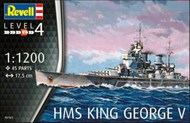 Revell of Germany  1/1200 HMS King George V RVL5161