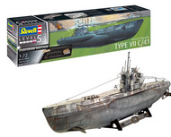 Revell of Germany  1/72 German Submarine Typ VIIC/41 RVL5163
