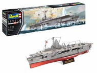 Revell of Germany  1/720 German Aircraft carrier Graf Zeppelin RVL5164